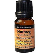 Nutmeg Pure Essential Oil (10ml) Natural Aromatherapy Home Fragrance Gif... - $10.27