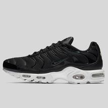 da0c8fb120c Nike Air Max Plus BR Breathe Running Shoes Black White 898014-001 Men  39
