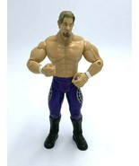 WWE Chris Jericho Action Figure Purple Silver Tights 2003 Jakks Pacific - $19.99