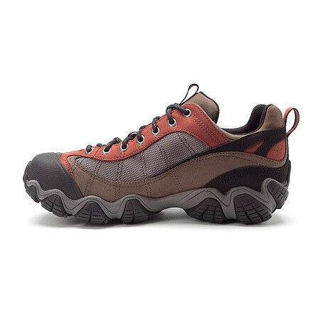 NEW MENS OBOZ EARTH FIREBRAND II 2 BDRY WATERPROOF HIKING SHOES SIZE 8.5