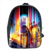 School bag avengers bookbag backpack thanos 3 sizes - $38.00 - $42.00