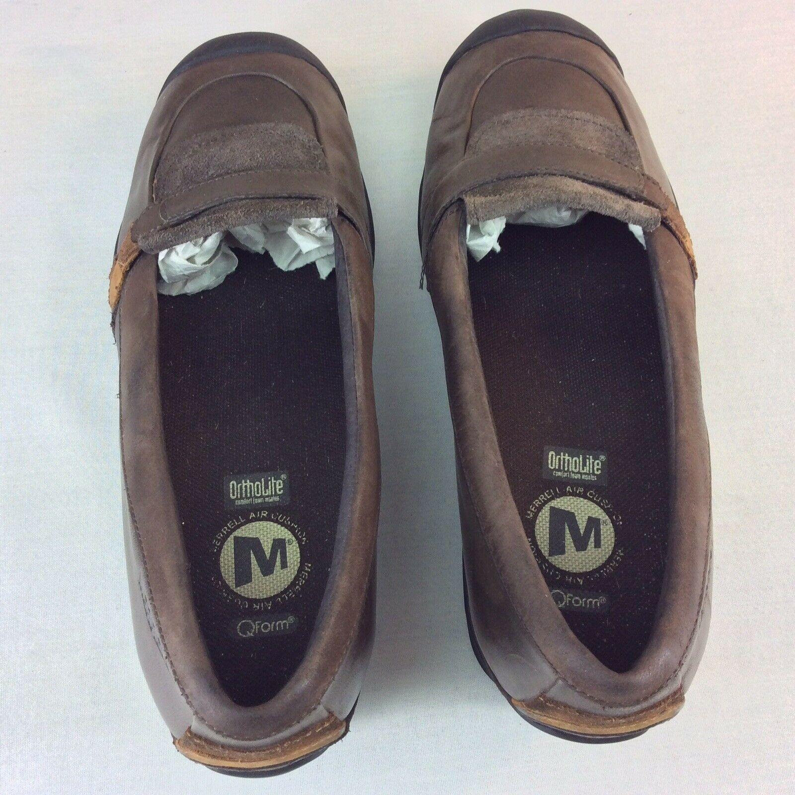 MERRELL Eden MOC Wedge Slip On Mary Janes Womens 7 M OrthoLite Dress Shoe J46466