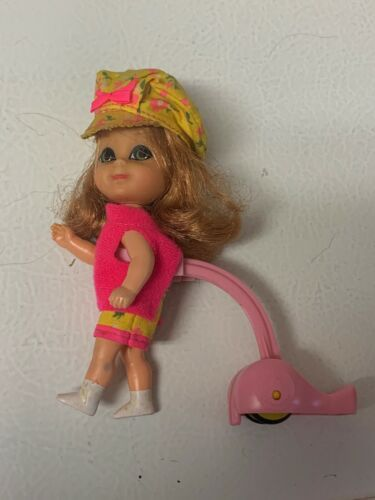 Primary image for Mattel Annabelle Skediddle Liddle Kiddle Doll Pink Yellow Outfit