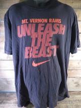 Mt Vernon Arieti Unleash la Bestia Nike T-Shirt Taglia XL - $14.84