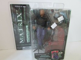Mcfarlane Toys Matrix Series Two Morpheus The Matrix Reloaded Figure New L237 - $126.42