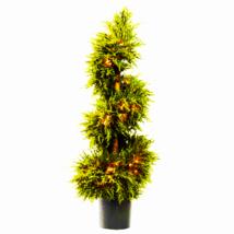 "43"" Cedar Spiral Topiary W/Lights - $142.25"