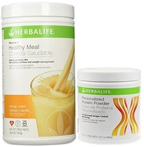 Herbalife Formula 1 Shake Mix-Orange Cream (750g) + Formula 2 Personaliz... - $99.00