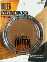 Covergirl Queen Collection Natural Hue Mineral Bronzer Q110 Brown Bronze - $14.80