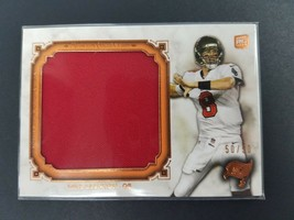 2013 Topps Museum Collection Jumbo Relic Copper /50 Mike Glennon #MJR-MG Rookie - $9.85