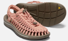 Keen Uneek Size 7 M (B) EU 37.5 Women's Sport Sandals Shoes Muted Clay / Silver
