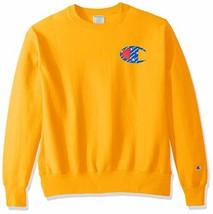 Champion LIFE Men's Reverse Weave Sweatshirt (Large|C Gold) - $61.24
