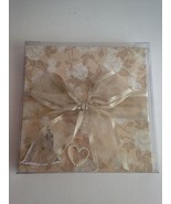 NEW Wedding Stories Book Keepsake Album Pop Up Fold Out Book Taupe Beige... - $10.90