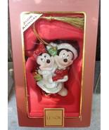 2006 Lenox China Disney Mickey & Minnie Mouse Porcelain Christmas Tree O... - $20.00