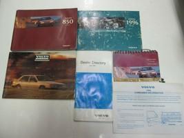 1996 Volvo 850 Owners Manuell Set Wasser Beschädigt Neu Fabrik OEM Buch 96 *** image 2