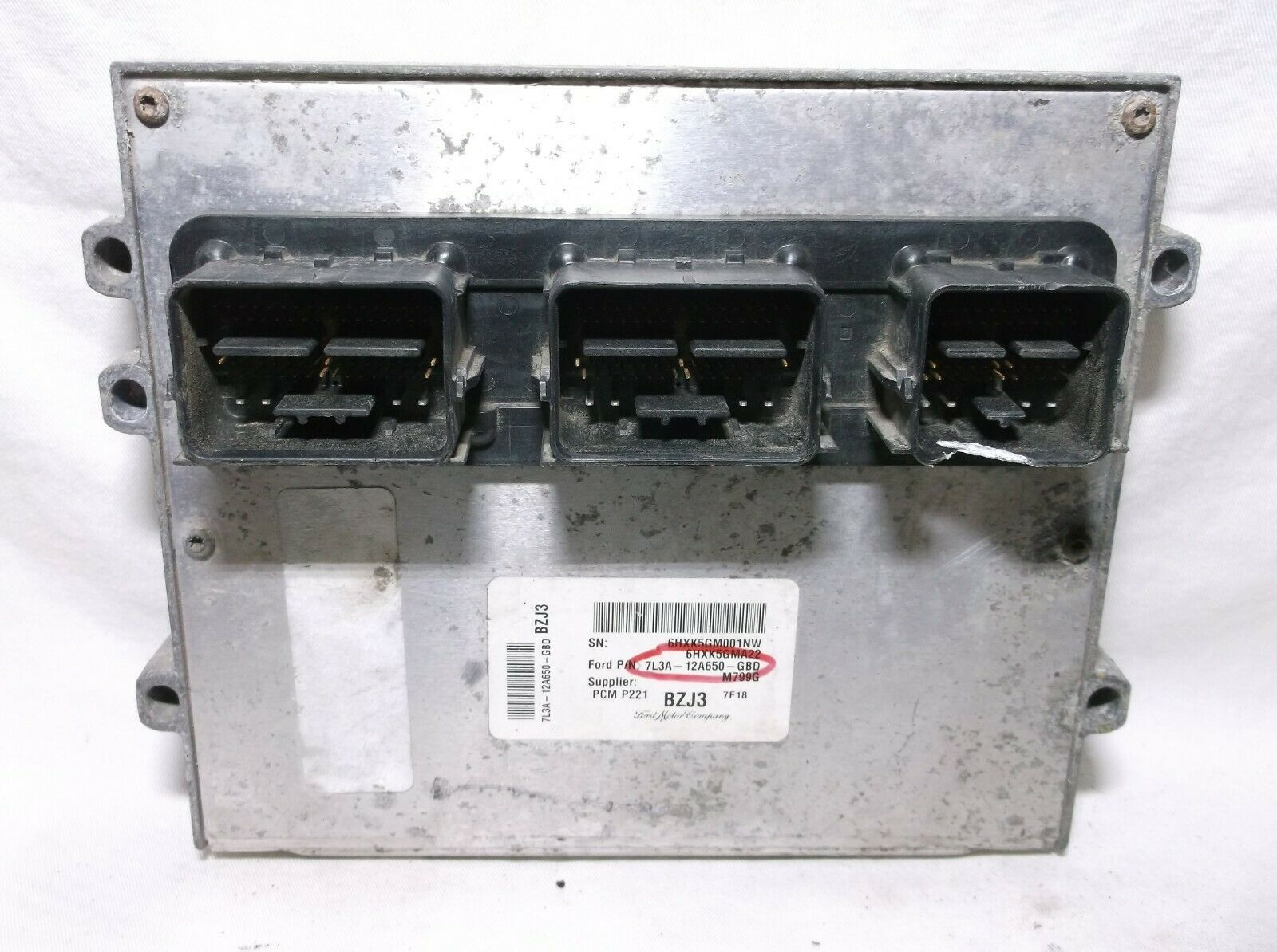Primary image for 07-08 FORD F-150/MARK LT /5.4L/ ENGINE CONTROL//COMPUTER/ECU.PCM..OEM