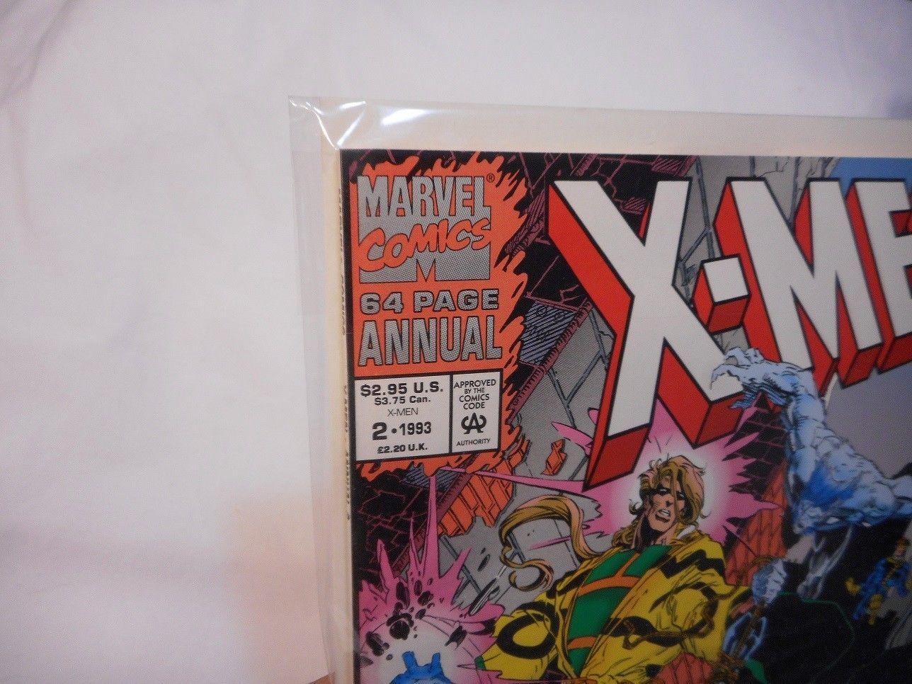 Annual #2 Annual 1993 Marvel NM X-Force 1991 Series 9.2