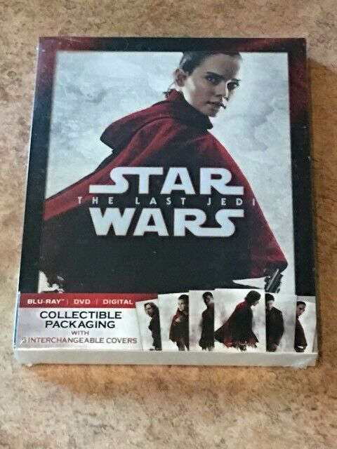 Star Wars: Last Jedi (Limited Edition Cover Canada/US Compatible Blu-ray/DVD)NEW
