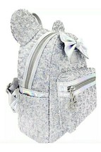 Loungefly x LASR Disney Minnie Holographic Sequin Mini Backpack Exclusive  - $148.67