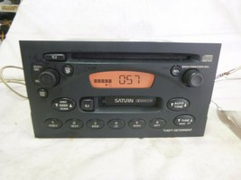 00 01 02 03 Saturn Ion Vue L S Radio Cd Cassette Player 21024009 BMX25 - $29.70