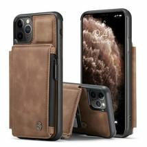 k3) Leather FLIP MAGNETIC BACK APPLE iPhone 12 12 PRO 12 MAX 11 Pro X XR... - $53.87