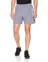"""Saucony Mens Alpha 5"""" Woven Shorts Lightweight Stretch Short"""
