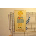 "Vintage Mail Offer Rag Dy-O-La Dye 12.5"" Dolly...Retro, Unique - P01 - $16.25"