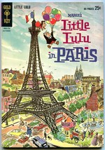 MARGE'S LITTLE LULU #165 1962-GOLD KEY-IN PARIS-GIANT VF/NM image 1