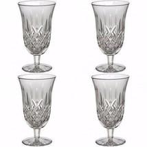 Waterford Crystal Lismore Iced Tea Beverage Glasses Set of Four 4 Glasse... - $233.94