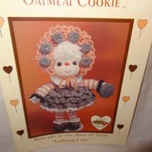 Oatmeal Cookie Doll Pattern Lollipop Lane Dumplin Designs Crochet 1984 C... - $9.99