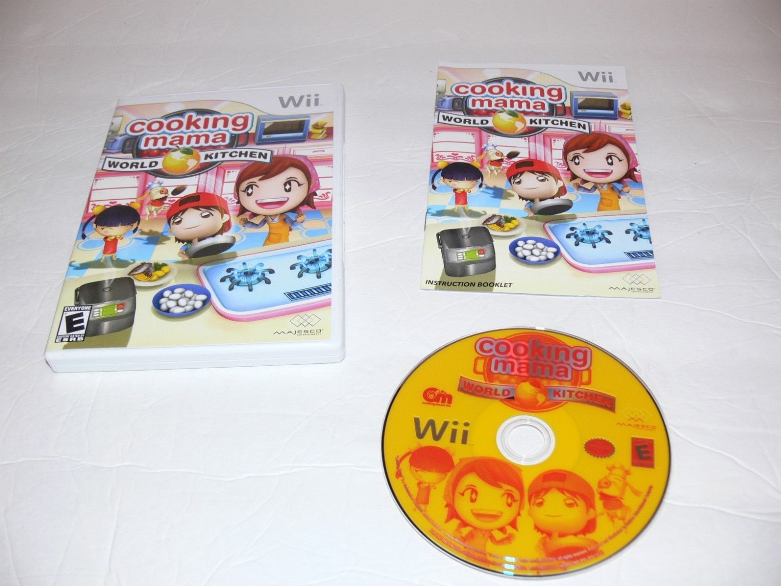 Cooking Mama: World Kitchen (Nintendo Wii, 2008) Complete