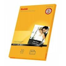 Kodak Ultra Premium Photo Paper Inkjet Super Gloss 280gsm A4 Pack 20 (5740-085) - $12.85