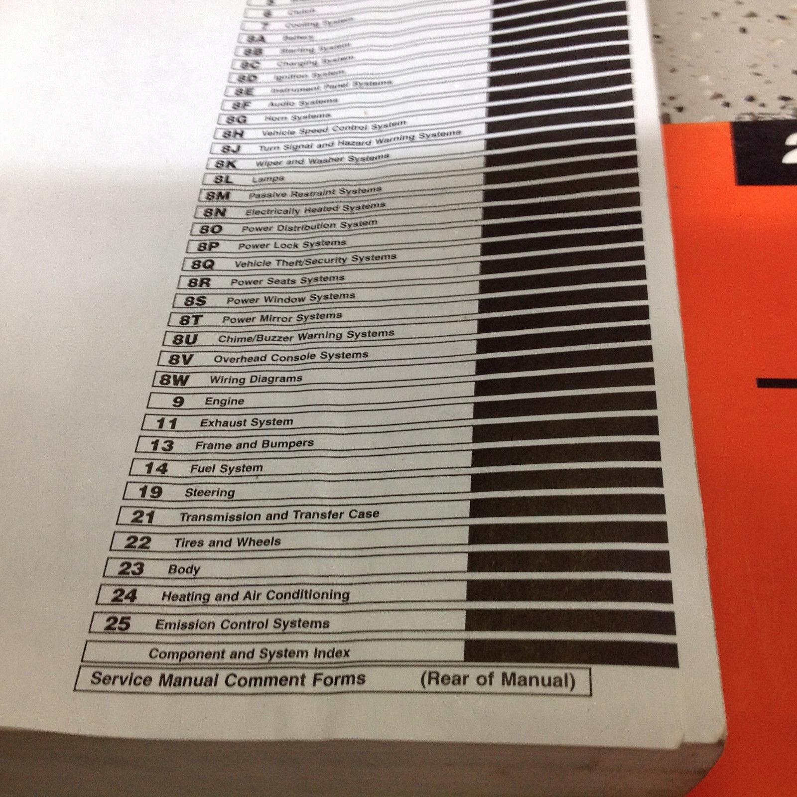 ... 2000 JEEP CHEROKEE Service Repair Shop Manual Set W Chassis Diagnostic  Book OEM ...