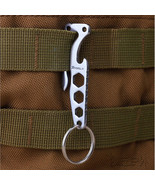 EDC Pocket Clip Hook Camp Multi Outdoor Mountain Carabiner Hanging Multi... - €7,59 EUR