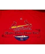 ST. LOUIS CARDINALS MLB BASEBALL MAKE BABY BEAR CRY T-Shirt MEDIUM NEW - $19.80