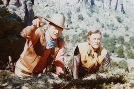 John Wayne and Kirk Douglas Color Poster 24x36   The War Wagon - $32.00