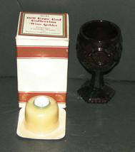 Vintage Avon 1876 Cape Cod Collection WINE GOBLET Fragrance Candlette Ho... - $19.98