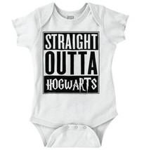 Straight Outta Magic Wizard School Nerd Witch Newborn Romper Bodysuit Fo... - $6.99+