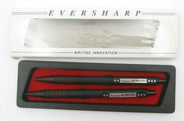 Lot of 2 Eversharp Astro Tech Rubberized Comfort Ballpoint Pen (Working) - $17.82