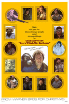 Clint Eastwood and Sondra Locke in Every Which Way But Loose 24x18 Poster - $23.99