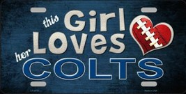 This Girl Lover Her  Colts NFL Tag - $19.34