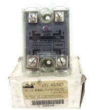 NIB DAYTON 5Z948 RELAY SOLID STATE 240VAC, 50/60HZ, 10AMP, 3-32VDC