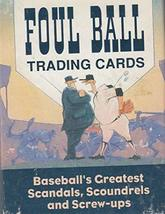 Foul Ball Trading Cards [Paperback] Cohen, Gary - $18.99
