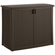 Durable Double-wall Resin Construction Elements Outdoor 40-Inch Wide Cab... - $164.99
