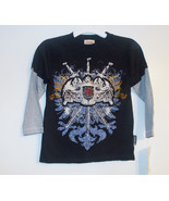 Carter's Boys Sword Crest Black and Gray Long S... - $9.85