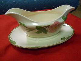 """Great  FRANCISCAN  Pottery..""""Desert Rose"""".....GRAVY BOAT - $15.65"""