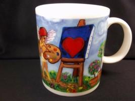Starbucks Cupid Artists coffee mug 12 oz - $17.90