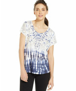Style & co. Women's Sport Printed Embellished Yoga Top Size XLarge - $14.06