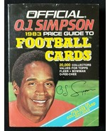 The Official O.J Simpson 1983 Price Guide to Football Cards - $5.00