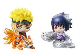 Naruto Shippuden Ninjutsu Activate Sasuke Petit Chara Land Trading Figur... - $59.99