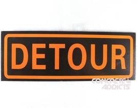 Detour Zeichen 27.9cm X 10.2cm Brandneu Straßenschild Replik Lustig Boys Man - $5.61